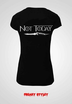 Remera Game Of Thrones Not Today - comprar online