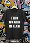 REMERA GODFATHER (EL PADRINO) FREDO YOU BROKE MY HEART