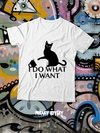"REMERA GATITO ""I DO WHAT I WANT"""