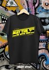 REMERA MAY THE FOURTH STAR WARS (MAY THE 4TH)