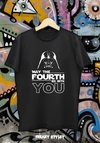 REMERA MAY THE FOURTH STAR WARS 3 (MAY THE 4TH)