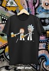 REMERA RICK AND MORTY PULP FICTION - comprar online