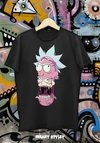REMERA RICK AND MORTY ROSA