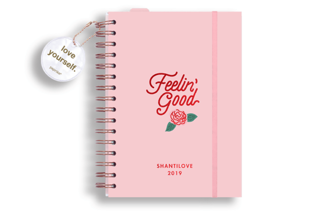 AGENDA 2019 - SHANTILOVE FEELIN GOOD' - comprar online