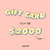 GIFT CARD $2000