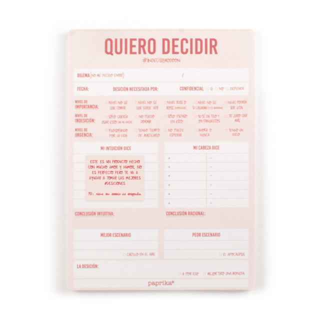 SELF LOVE KIT (Notepad Quiero decidir + Notepad Autoterapia) en internet