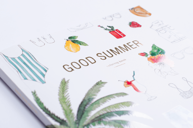 Imagen de COLORING BOOK GOOD SUMMER