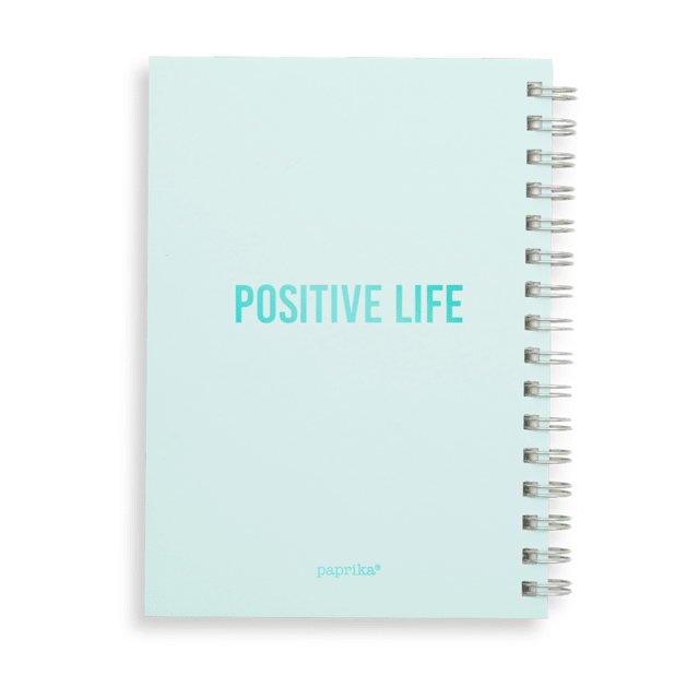 CUADERNO POSITIVE  + NECESSAIRE POSITIVE - paprika®