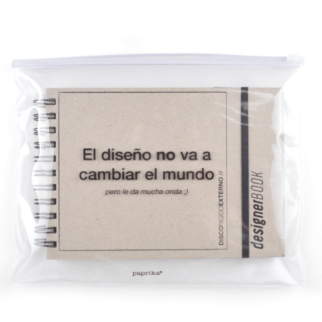 KIT DESIGNER (CARTON Y NEGRO + BAG) - paprika®