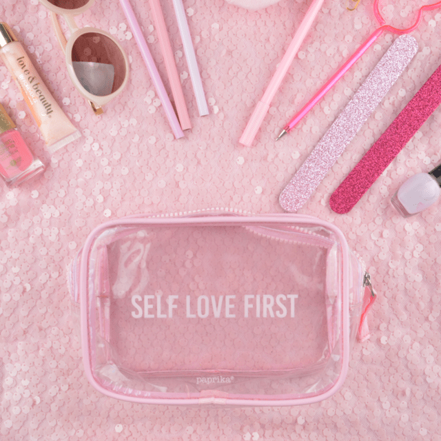 NECESSAIRE PVC -SELF LOVE FIRST