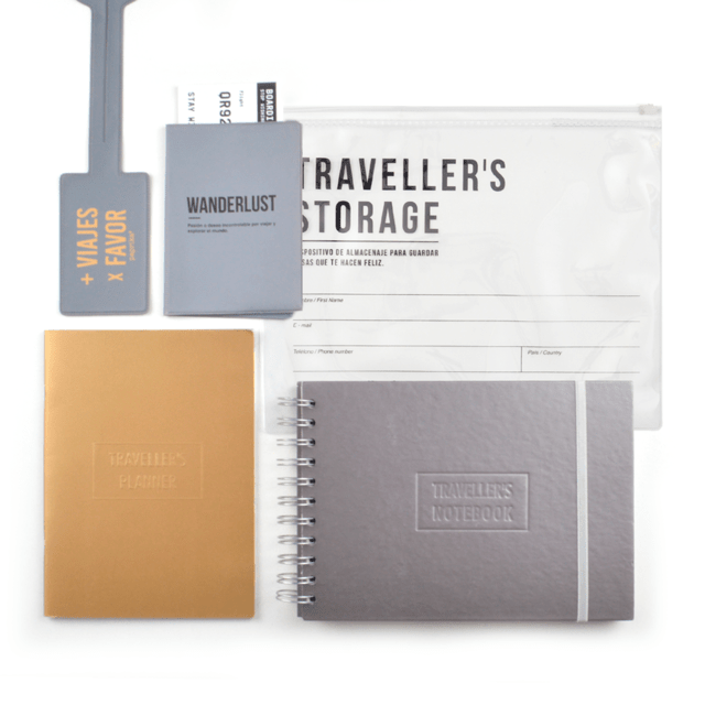KIT DE VIAJE - TRAVELLERS ALL IN (GRIS)