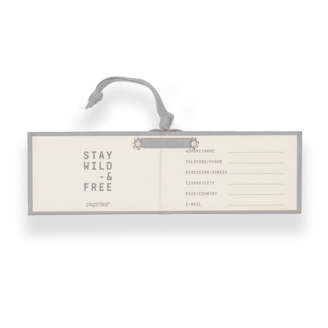 TRAVEL TAG - CARTON GRIS - comprar online