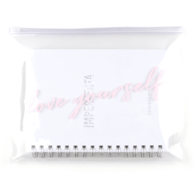 CUADERNO IMPERFECTA RAYADO  + BAG SHANTILOVE