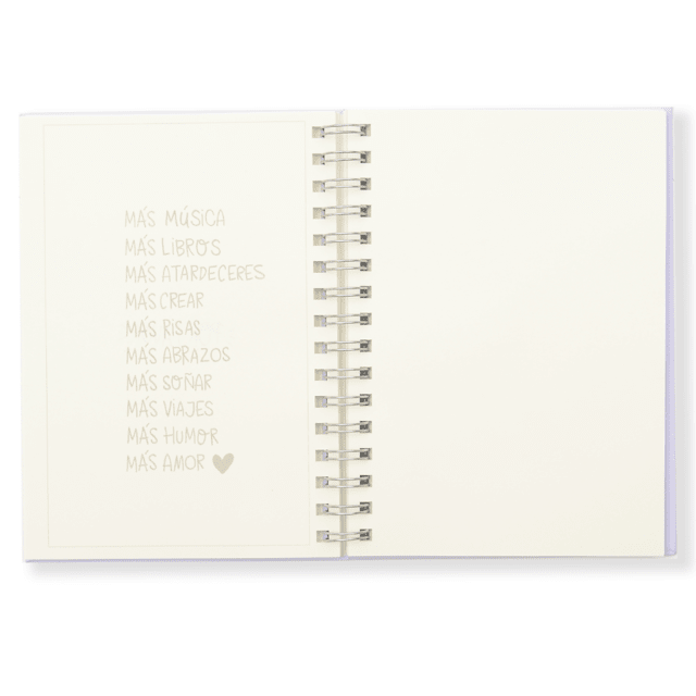 CUADERNO CHOOSE HAPPY LISO + BAG SHANTILOVE