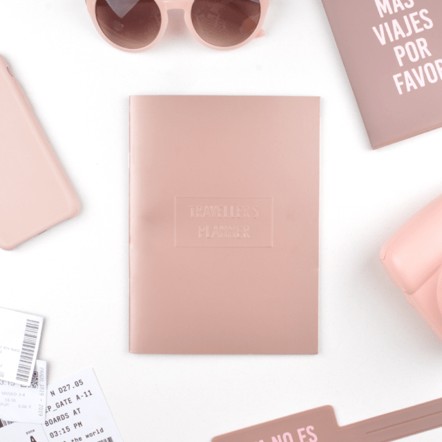 TRAVELLER´S PLANNER -ROSE GOLD- en internet