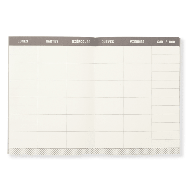 TRAVELLER´S PLANNER -ROSE GOLD- - paprika®