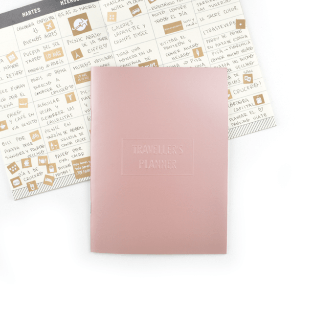 TRAVELLER´S PLANNER -ROSE GOLD-