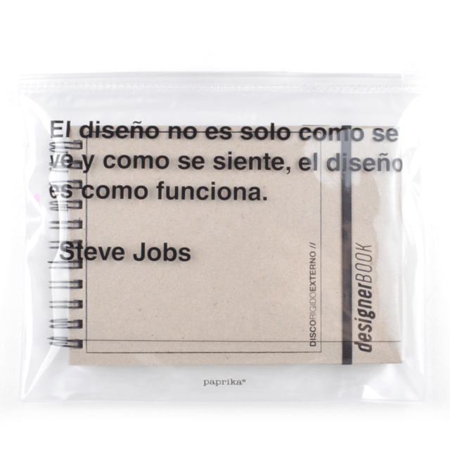 KIT DESIGNER (CARTON Y NEGRO + BAG)