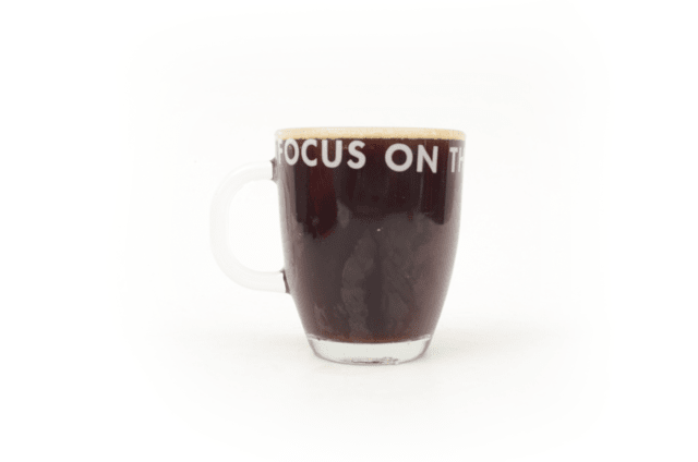 Taza Focus on the Good (vidrio) - comprar online