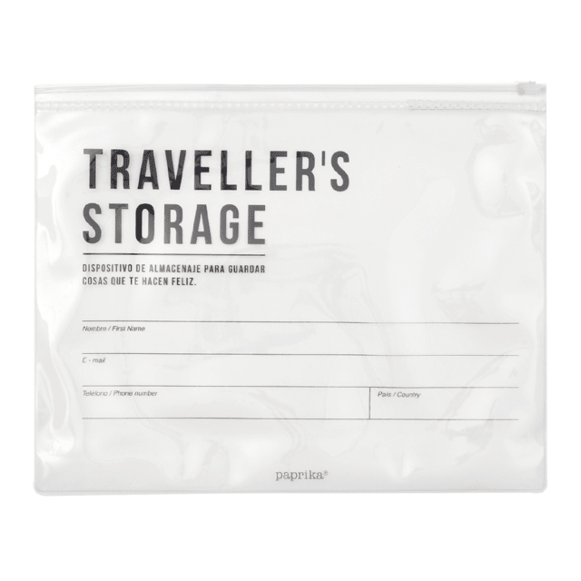 KIT DE VIAJE - TRAVELLERS ALL IN (NEGRA Y ORO) - paprika®