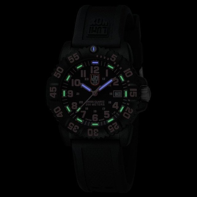 Navy SEAL Colormark 38mm 7065 - Luminox