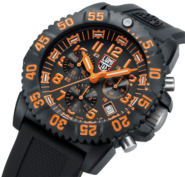 NAVY SEAL COLORMARK CHRONO 3080 SERIES - Luminox Argentina