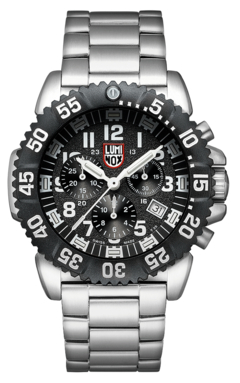 Navy SEAL Steel Colormark Chronograph 3182, 44 mm