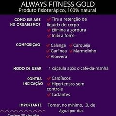 ALWAYS FITNESS GOLD | ORIGINAL na internet