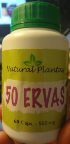 50 ERVAS | NATURAL PLANTS
