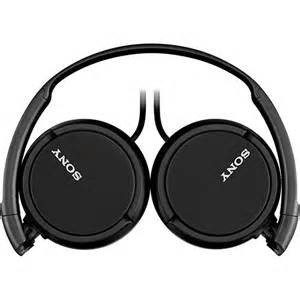 Fone de ouvido stereo Sony MDR-ZX110 na internet