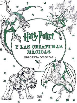Harry Potter - lugares y personajes mágicos - libro para colorear