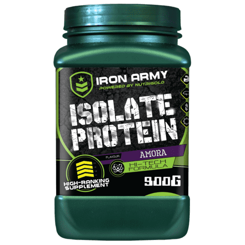 ISOLATE PROTEIN 900g sabor AMORA (Whey Isolado) - Iron Army - comprar online