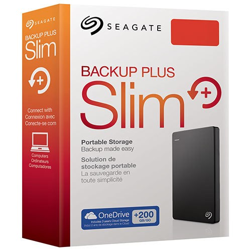 Disco Rigido Externo Seagate Backup Plus Slim - comprar online