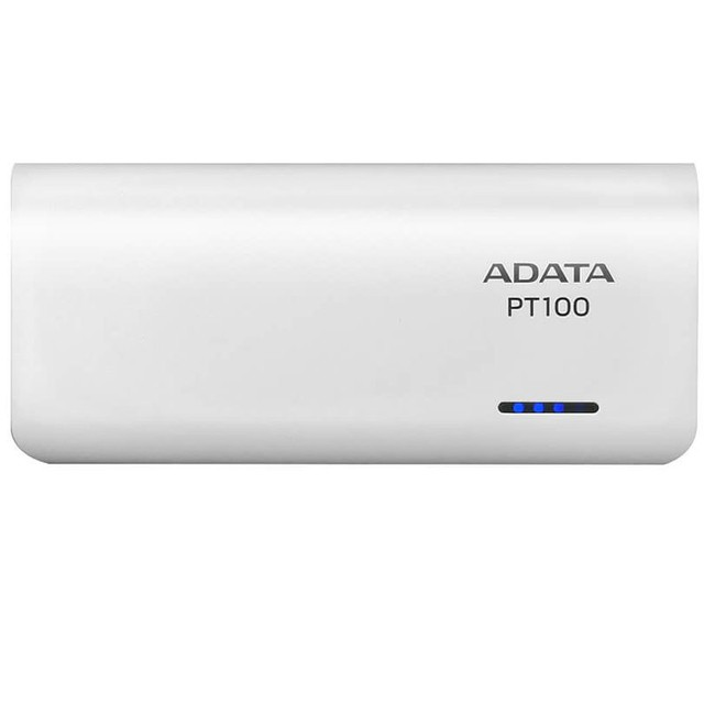 Power Bank Adata 10000 Mah Cargador Portatil Pt100 Blanco en internet