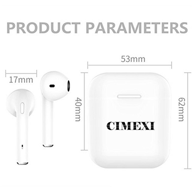 Airpods Cimexi Auricular Bluetooth In Ear Wireless I7 en internet