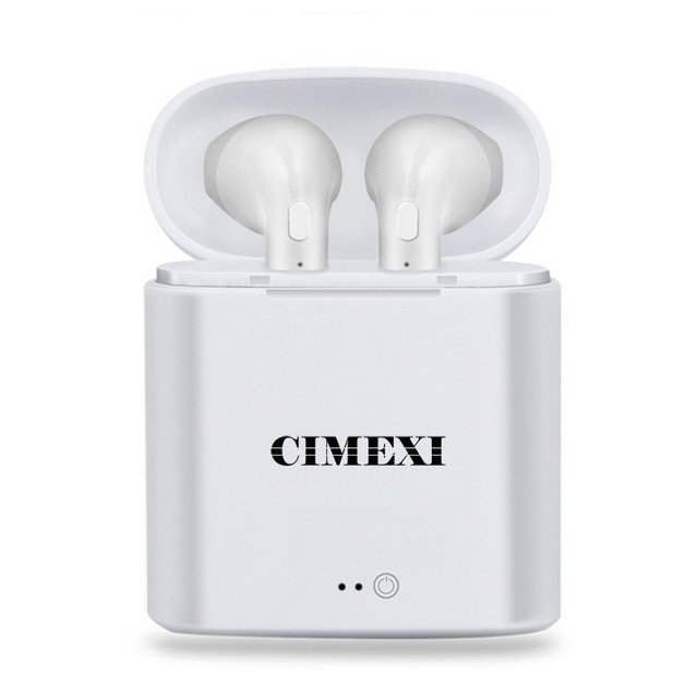 Airpods Cimexi Auricular Bluetooth In Ear Wireless I7 - FsComputers