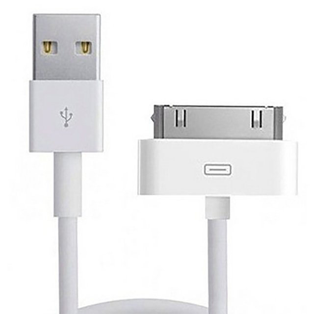 Cable USB Ipod 4 / iPhone 4 Generico 1 metro