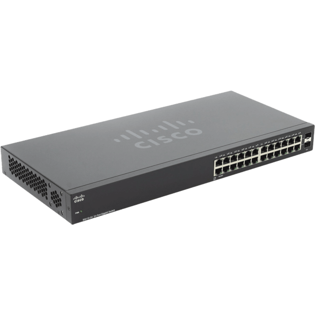 Switch Cisco Sg110 24 Puertos Gigabit 2 Sfp Rack Sg110-24
