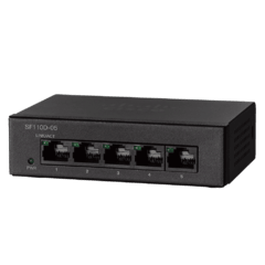 Switch Cisco Sf110d 05 Red 5 Puertos 10/100 - comprar online