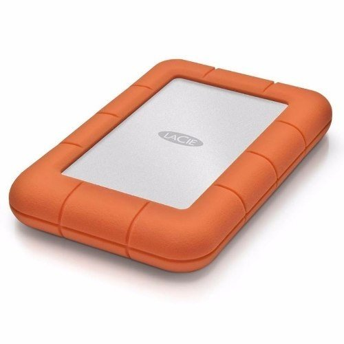 Disco externo LaCie Rugged USB-C de 1 TB - FsComputers