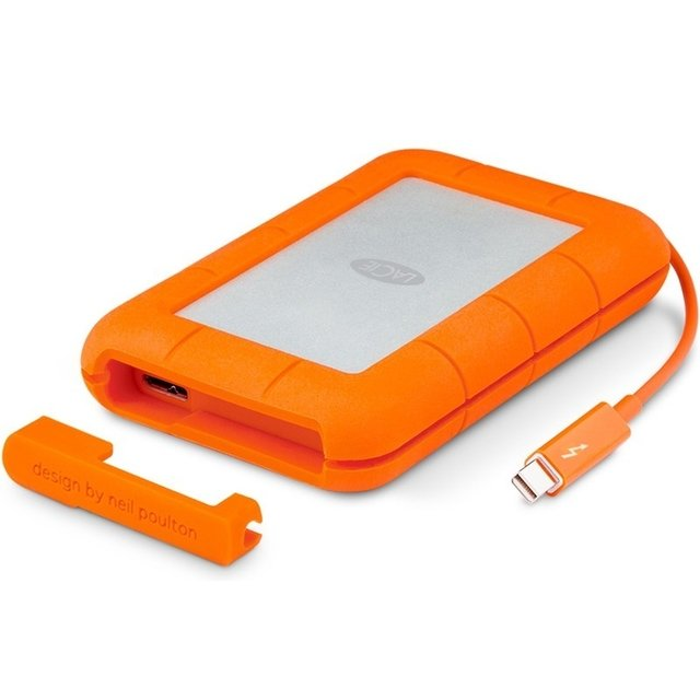 Disco Externo Lacie 1 Tb Rugged Usb 3.0 Thunderbolt Portatil