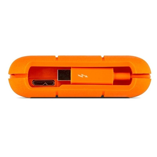 Disco Externo Lacie 1 Tb Rugged Usb 3.0 Thunderbolt Portatil - FsComputers