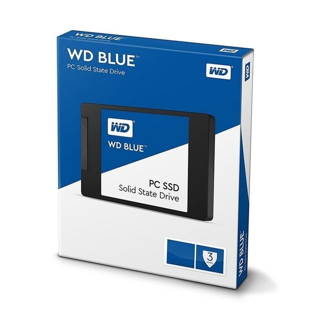 Disco Interno Wd Blue 250 Gb Ssd Sata 2.5 7mm Estado Solido