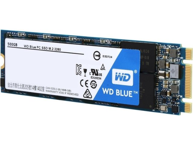 Disco Solido Ssd Wd 250 gb Blue M.2 Western Digital M2