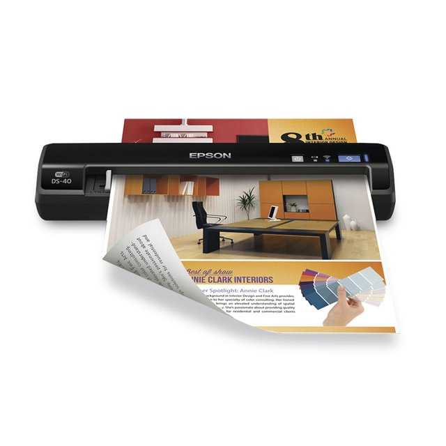 Escaner Epson Portatil Ds 40 Work Force Inalambrico Wifi - comprar online