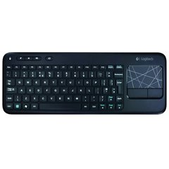 Teclado Logitech Wireless Touch K400 Plus Tv Pad Multitactil - FsComputers