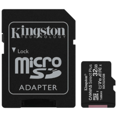 TARJETA MEMORIA KINGSTON 32GB MICRO SDCS2 CANVAS SELECT PLUS