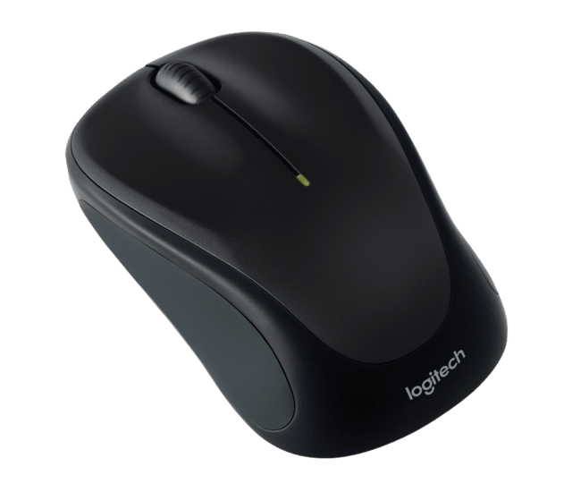 Mouse Inalambrico Logitech M317 Wireless Unifying Negro - comprar online