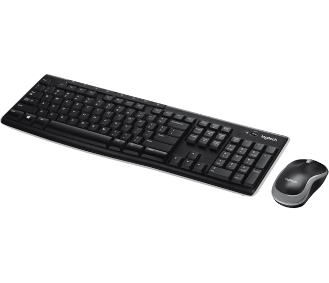 Combo Teclado Mouse Inalambrico Logitech Mk270 Wireless Fs en internet