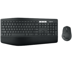 Combo Teclado Mouse Logitech Mk850 Inalambrico Mk 850 Wireless Unifying - comprar online